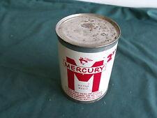 1956 1957 1960 Mercury Metal Oil Can Sign