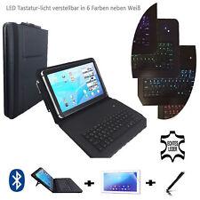 """Leder Starter set für Samsung Galaxy Tab 2 P5110 Keyboard Hülle 3in1 10.1"""" LT2"""