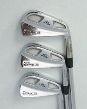 Set of 3 x Cobra Pro MB Forged Irons 5 6 7 True Temper Stiff Steel Shafts