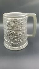 New listing Vintage 1985 Peabody Coal Company Eastern Division Pewter Mug Stein