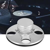 Audio Plattenspieler Disc Stabilizer Vinyl Record Clamp Klammer HiFi Zubehör