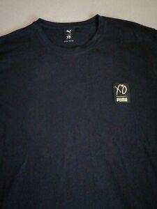 Puma X XO The Weeknd Graphic Short Sleeve T-Shirt Top - Black - 2XL