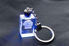 Lhasa Apso, Dog Crystal Keyring, Keychain, High Quality, Crystal Animals Ca