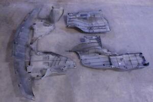 ACURA RDX 13 14 15 16 17 ENGINE UNDER COVER SPLASH SHIELD MUD GUARDS SET OEM
