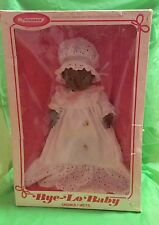 Vintage Bye Lo Baby Doll Drinks Wets Horsman NIB African American
