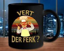 Vert Der Ferk Swedish Chef Vintage Retro Mug Funny White Coffee Mug 11Oz Gift