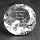 Personalised Engraved Diamond Paperweight - Graduation, Christmas, Fathers Day