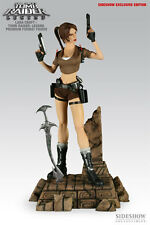 SIDESHOW LARA CROFT COMIQUETTE EXCLUSIVE EDITION 1/4 SCALE STATUE NEW #138/500