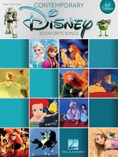 Contemporary Disney 3rd Edition Sheet Music 50 Favorite Songs Piano 000195620