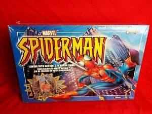 Marvel Spiderman Roseart Swing Into Action 3-D Board Game 6+ 2-4 Player
