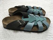 Papillio Birkenstock Sandal Blue Suede 42 New Narrow?