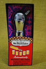 Famous Mr Bartender Metal Automatic Measures & Pourer Gin Vodka Original Box MCM