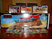 Star Wars Vintage Collection Jabba's Sail Barge-Khettana ROTJ Bundle