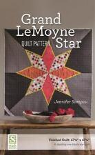 Grand LeMoyne Star Quilt Pattern, Sampou, Jennifer