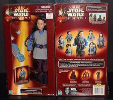 "Star Wars 12"" Beautiful Braids Padme Queen Amidala Doll Ep 1 NM Princess Leia"