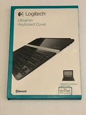 Logitech Ultrathin Keyboard Cover Black for iPad 2 and iPad (3rd Gen) NIB
