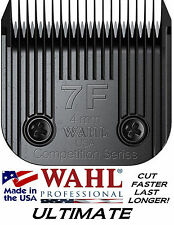 WAHL ULTIMATE COMPETITION Pet Grooming #7F BLADE*Fit Most Oster,Andis Clippers