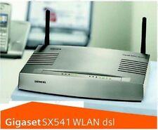 SIEMENS GIGASET SX541 WLAN dsl - 54 Mbit Modem Router / VoIP, TK ADSL ADSL2+