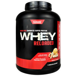 Betancourt WHEY RELOADED Protein - 5 lbs, 68 Servings VANILLA