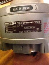 SUMITOMO SM-CYCLO Planetary Gear Reducer CNVMS-5095-43