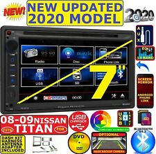 FOR / FITS 08-12 TITAN POWER ACOUSTIK BLUETOOTH CD DVD USB SD AUX CAR RADIO PKG