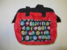 Bingo Tote Bag in Red! Stylish purse style bag that holds 6 daubers
