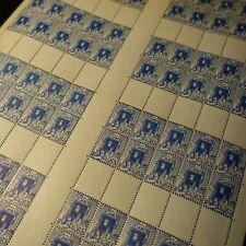 FEUILLE SHEET ALGÉRIE N°137 x80 CARNET NON CONFECTIONNÉ NEUF ** MNH COTE 1200€