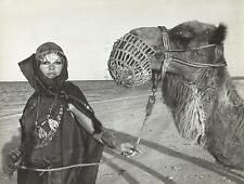 BRIGITTE BARDOT as an Odalisque with a Dromedary PHOTO by DANIEL ANGELI 1970