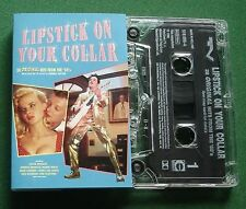 Lipstick On Your Collar TV Series Elvis Platters + Cassette Tape - TESTED