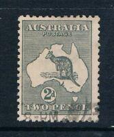 Australia - 1915 - 2d Grey Kangaroo - Perf 12 - SC 45 [SG 35] USED T2