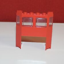 Lego Eisenbahn rotes Führerhaus, Front, Frontscheibe für Lok aus 4563 oder 4551