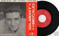 """GILBERT BECAUD - Mé-Qué, Mé-qué + 3, EP 7"""" RARE SPAIN 1958"""