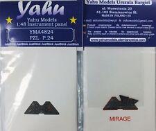 Yahu Modelos yma4824 1/48 PE Pzl P. 23 Karas instrumento Panel Mirage
