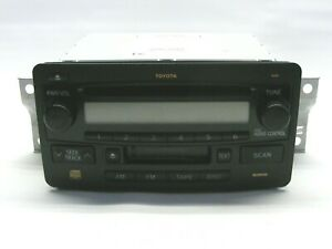 TOYOTA  2006- 2009 86120-0C081 Radio Stereo Tape Cassette CD Player As IS