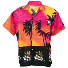 Hawaiian Shirt Aloha Colorful Coconut Shade Holiday S ha257p
