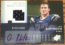 2006 SPx Rookie Jersey Autograph Joe Klopfenstein #199 #'d 0725/1650