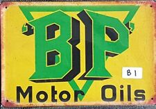 BP Motor Oils Metal Tin Signs Bar, Shed & Man Cave Signs AU Seller