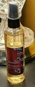 JAPANESE CHERRY BLOSSOM BATH & BODY WORKS  4 fl oz BODY SPLASH RARE SIZE