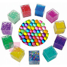 10000PCS Water Plant Flower Jelly Crystal Soil Mud Hydro Gel Pearls Beads Ball E