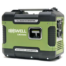 Boswell 2KVA Max Silent Inverter Generator Camping Portable Sinewave Petrol