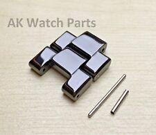 2 schwarze Keramik Links zu fit Emporio Armani AR1400/AR1410/AR1414/AR1406 Armband