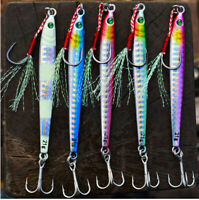 Details about  /5pcs Micro Butterfly Metal Jig Fishing Lure 20g//30g//40g Snapper Jigging Lures