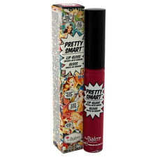 Pretty Smart Lip Gloss - Pow! by the Balm for Women - 0.219 oz Lip Gloss