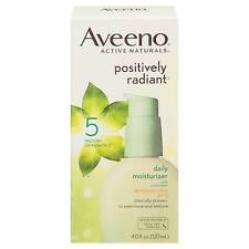 Aveeno Positively Radiant Daily Moisturizer 4oz SPF 15