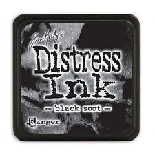 Tim Holtz Ranger Distress Mini Ink Pad X1 (choose From 60)non-toxic Acid Black Soot