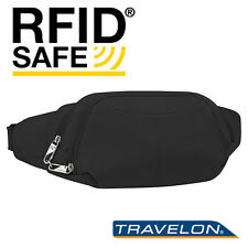Ladies / Men Waist Pack  RFID-Blocking belly pack slash-proof w/ Anti-Theft bag