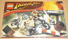 Lego indiana jones plano de edificio para 7620, only instruction