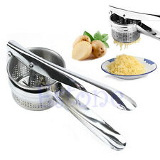 Nice Stainless Steel Manual Potato Puree Juicer Vegetable Fruit Masher Ricer