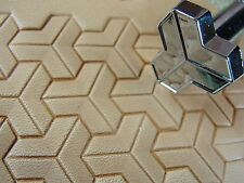 Leather Stamping Tool - G2284 Tri Geometric Stamp