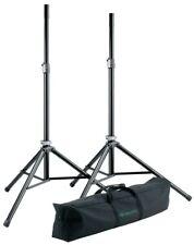 K&M Speaker Stand Package - Black 21449